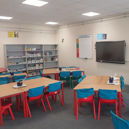 Town Farm Finished Class Room 420